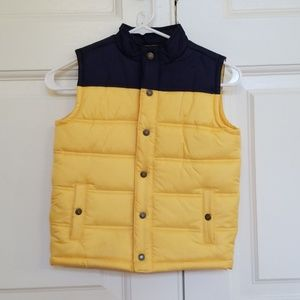 Janie and Jack Boys Puffer vest